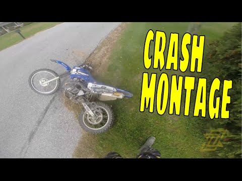 ZackGoes Dirt Bike Crash and Fails Compilation
