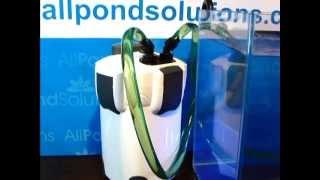 External Filter Set Up Guide 1000EF u0026 1400EF - All Pond Solutions