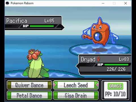 Pokemon Reborn(Ep 17) Walkthrough Pt. 34 - Amaria Gym Battle