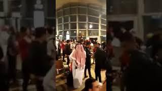حكام العرب حكام خونة _ جماهير الترجي التونسي في قطر