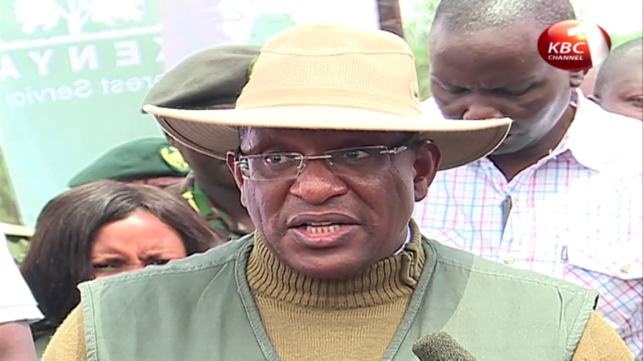 Tobiko launches national tree planting exercise