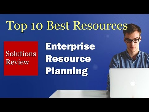 The Top 10 Best Resources: Enterprise Resource Planning