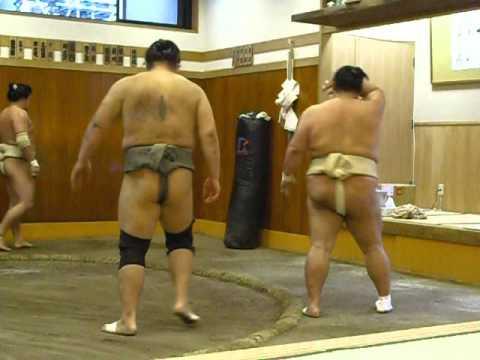 Tokitsukaze heya, exercices de butsukarikeiko
