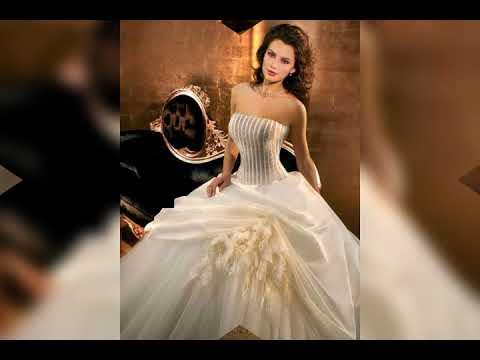 3b05486288b46 أفخم اقوى موديلات فساتين زفاف لعام 2019 ،اجمل فساتين اعراس 2019 فساتين زفاف  ملكية و