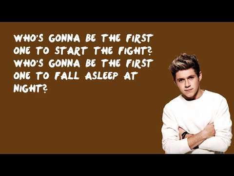 Spaces - One Direction (Lyrics)