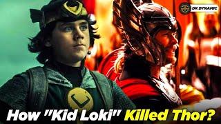 How Kid Loki Killed Thor? Explained In Hindi // DK DYNAMIC