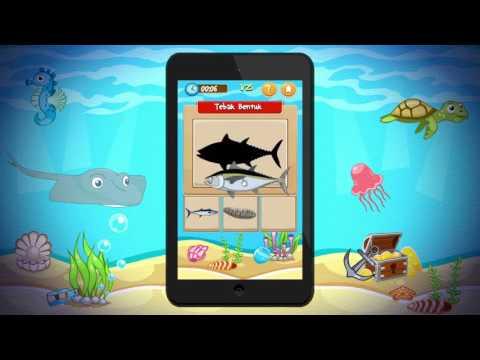 Trailer Game Anak Edukasi Hewan Laut Versi 2