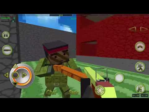 Strike Combat Pixel Arena 3D Multiplayer Mobile PlayThrough