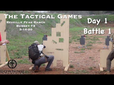 The Tactical Games, Burnet TX, Day 1 Battle 1