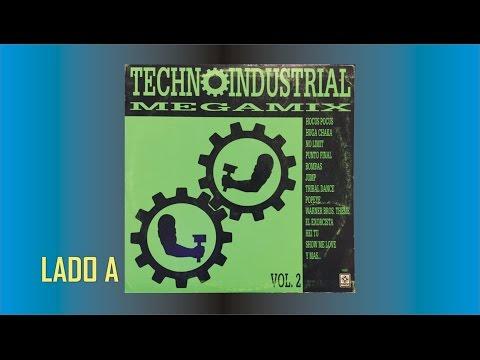 Techno Industrial Megamix Vol 2 Lado A FULL HD