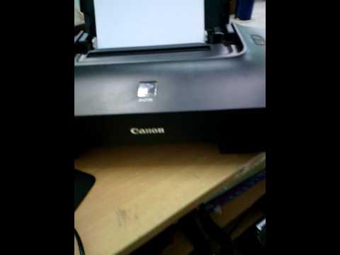 Canon ip2770 ไฟกระพริบ 4 ครั้ง 5 ครั้ง
