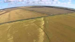 confirmed ef0 tornado through rice field