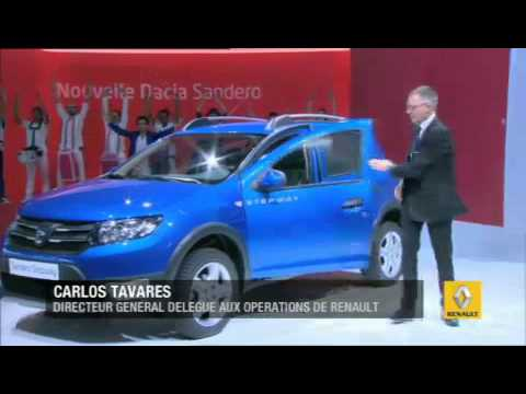 2012 Paris Motor Show: The best of Renault and Dacia press conferences