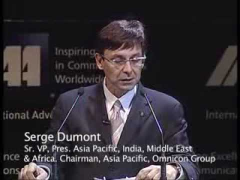 Serge Dumont at the 42nd IAA World Congress 2010 in Moscow