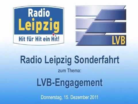 Die Radio Leipzig Sonderfahrt zum Thema LVB-Engagement