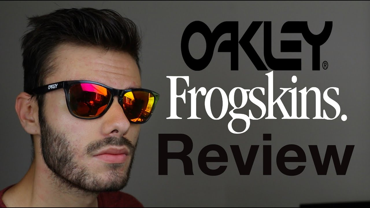 oakley frogskins polarized review