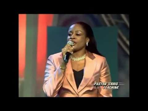 Award winning Sinach Sings I stand amazed