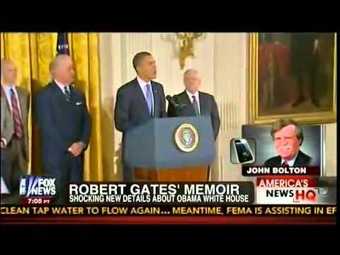Gates Says He Felt Like An Outsider In Obama White House   America
