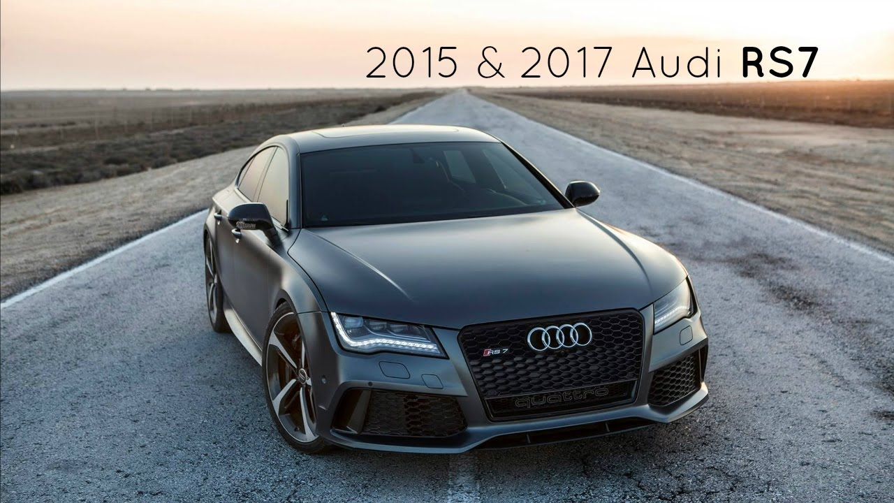 2017 2015 audi rs7 sportback true beauty in a car youtube. Black Bedroom Furniture Sets. Home Design Ideas