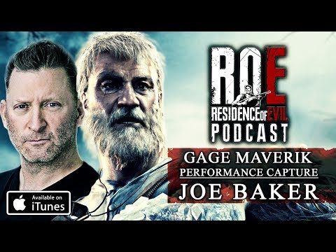 ROE Podcast | Gage Maverik Interview | Joe Baker In Resident Evil 7: End of Zoe