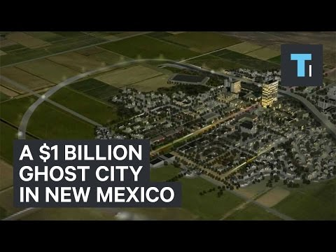 A $1 billion ghost city in New Mexico