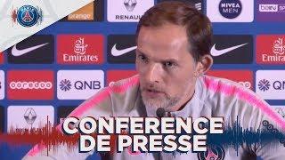 Conférence de presse avant Olympique Lyonnais Paris Saint-Germain