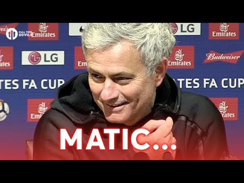 Jose Mourinho: Matic an Island of Personality! Manchester United 2-0 Brighton