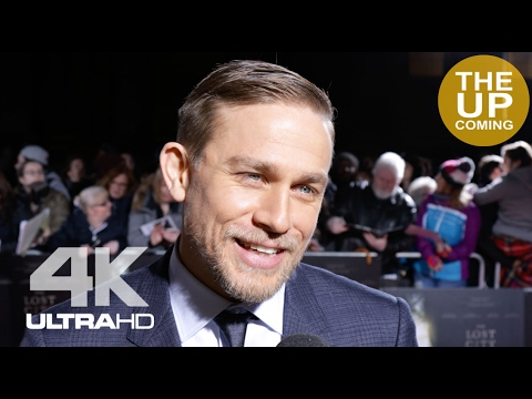 Charlie Hunnam interview: The Lost City of Z premiere in London