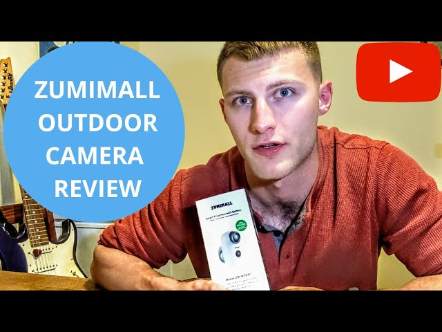 Zumimall A3p Outdoor Camera Review Youtube