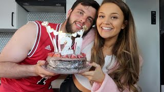 LET'S BAKE MY BIRTHDAY CAKE! | bake with us👩🏼🍳