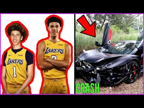 Thumbnail: How LaMelo Ball just RUINED HIS LIFE AND CAREER!! LaMelo crashes LAMBO!!