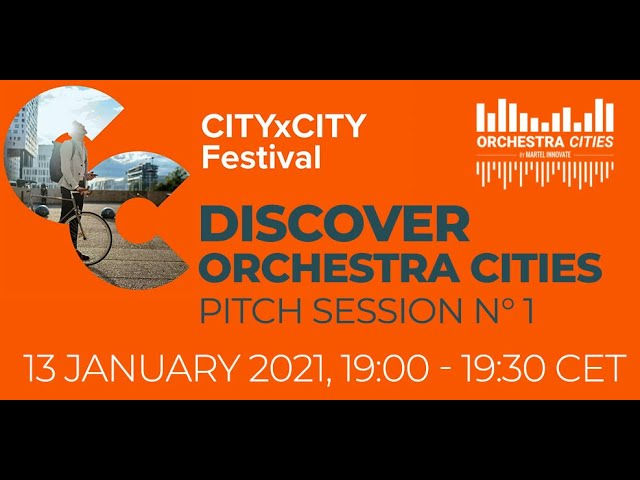 OrchestraCities @ CityxCity festival 2021