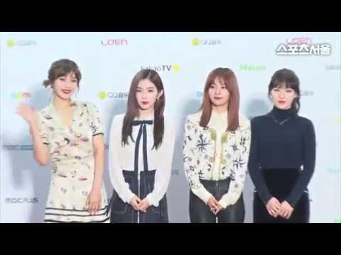 161119 Sport Seoul MMA (Melon Music Awards 2016) Red Velvet - Red Carpet Cut