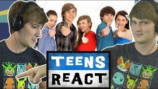 TheOdd1sOut реагирует на Teens React на TheOdd1sOut