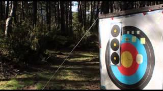Longbow test shooting