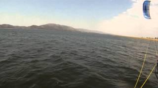 viaje de kite al Dique los Molinos, Cordoba