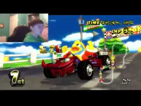 Mario kart wii let 39 s play part 2 king dedede youtube for Coupe miroir mario kart wii