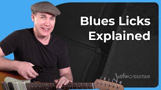 How To Use And Practice Your Blues Licks Effectively - Lesson 6 - Guitar Lesson Tutorial [BL-406]