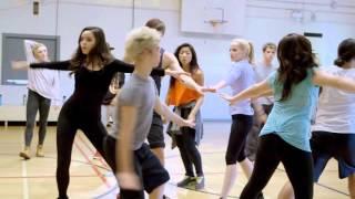 「ディセンダント」キャストたちのダンス・リハーサル