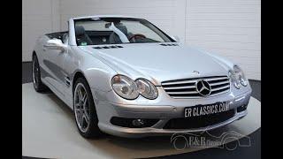 Mercedes-Benz SL 55 AMG 2003 Only 34,080 km driven -VIDEO- www.ERclassics.com