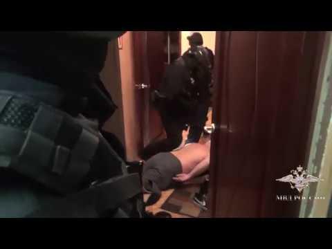 Задержание подозреваемых в краже 42 млн рублей