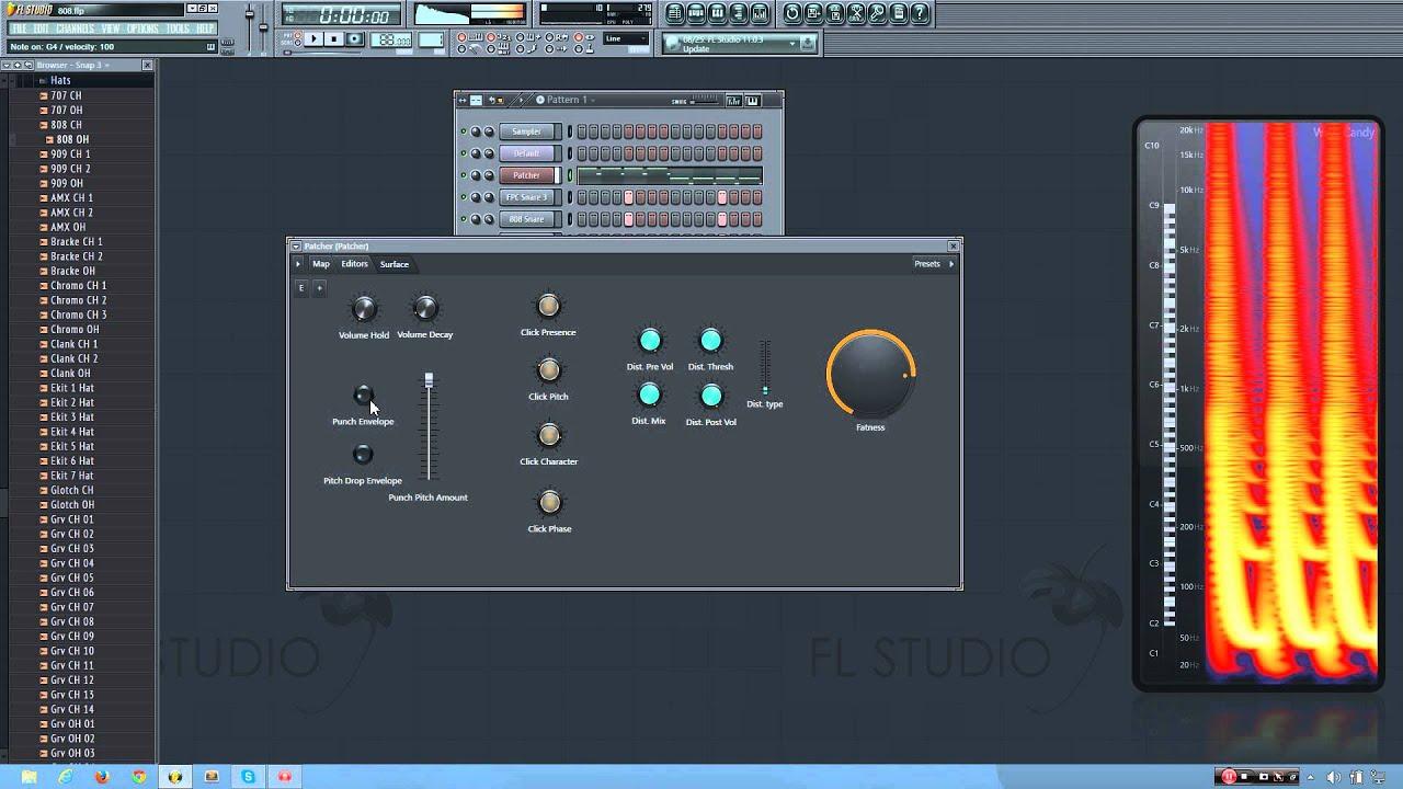 808 bass sound fl studio download windows 10