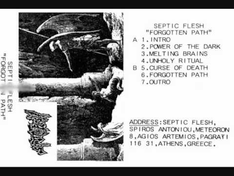 Septicflesh - Forgotten Path Full Rare Demo thumb