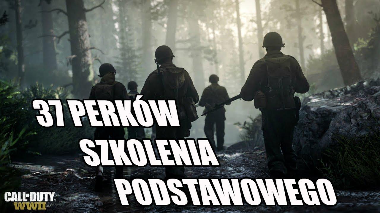 CALL OF DUTY WWII – 37 PERKÓW W SZKOLENIU PODSTAWOWYM