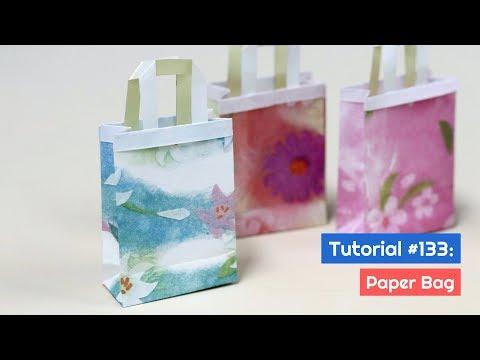 DIY Paper Bag Tutorial | The Idea King Tutorial #133
