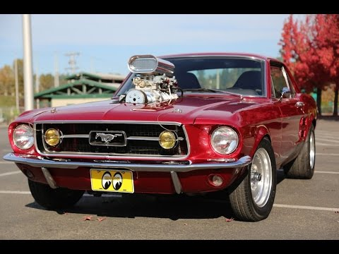 Supercharged 1967 Mustang Mainly Muscle Cars Test Drive Youtube