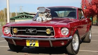 Supercharged 1967 Mustang - Mainly Muscle Cars Test Drive