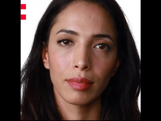 Frame of a video of Zohre Esmaeli speaking about the Odyssey project