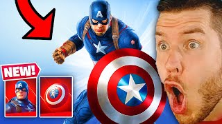 CAPTAIN AMERICA in FORTNITE IST DA!