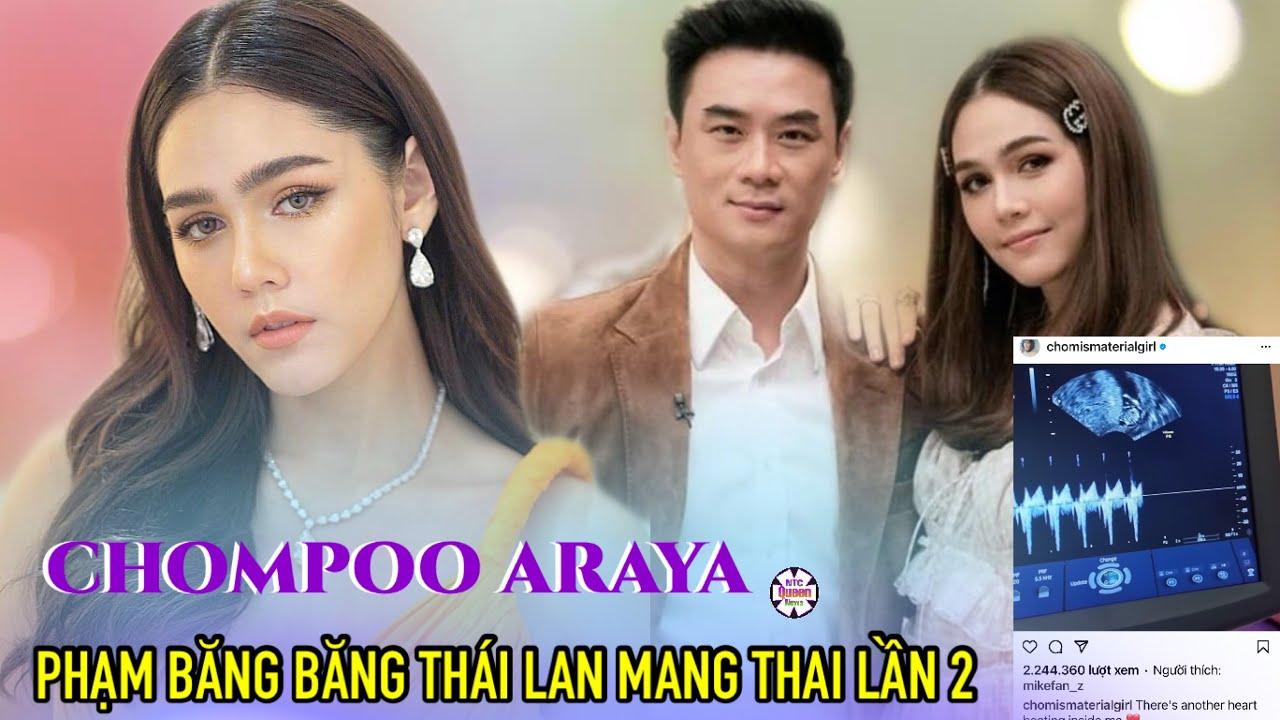 🔥Dàn sao Thái tấp nập chúc mừng mỹ nhân Tbiz Chompoo Araya mang thai lần 2